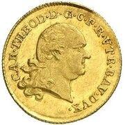 1 ducat Karl Theodor – avers