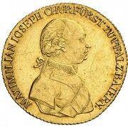 1 ducat Maximilian IV Josef – avers