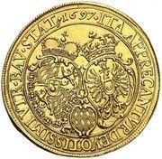 2 ducats Maximilian II Emanuel (Naissance du Prince Karl Albert) – avers