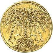 2 ducats Maximilian II Emanuel (Naissance du Prince Karl Albert) – revers