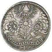 2 ducats Maximilian II Emanuel (Naissance du Prince Ferdinand Maria; Frappe essai en argent) – avers