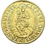 1 ducat Karl Albrecht – revers