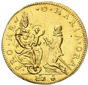 1 ducat Maximilian I – revers