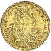 1 goldgulden Maximilian II Emanuel – avers
