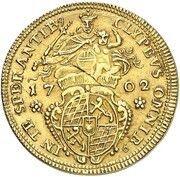 1 goldgulden Maximilian II Emanuel – revers