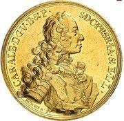 10 ducats Karl Albert – avers