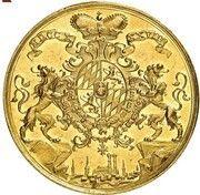 10 ducats Karl Albert – revers