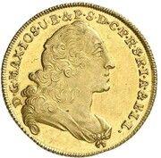 1 maximilian d'or Maximilian III Joseph – avers
