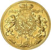 20 ducats Karl Albert – revers