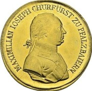 30 Ducats - Maximilian I Josef (Gold Pattern) – avers