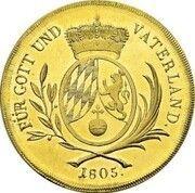30 Ducats - Maximilian I Josef (Gold Pattern) – revers