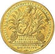 5 Ducats - Maximilian II. Emanuel (Birth of Prince Joseph Ferdinand) – avers