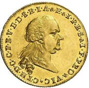 3 Ducats - Karl Theodor (Vikariat) – avers