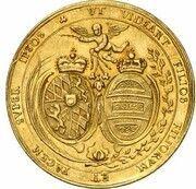 5 Ducats - Maximilian II. Emanuel (Marriage of Maximilian II. Emanuel & Maria Antonia von Österreich) – revers