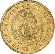 5 Ducats - Maximilian I (Gold Pattern) – revers