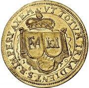 2 Ducats - Ferdinand Maria (Birth of Prince Cajetan Maria)Pattern) – revers