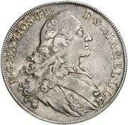 1 Thaler - Maximilian III. Joseph (Arslanitaler) – avers