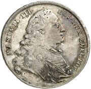 1/2 Thaler - Maximilian III. Joseph (Schulpreis) – avers