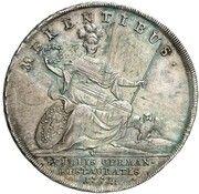 1/2 Thaler - Maximilian III. Joseph (Schulpreis) – revers