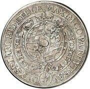 ⅓ thaler Maximilian I – avers