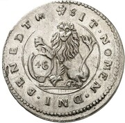 48 Kreuzer - Maximilian I (Kipper) – revers
