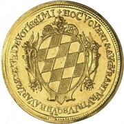 5 Ducats - Ferdinand Maria (Birth of Princess Maria Anna) – revers
