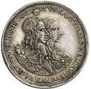 5 Ducats - Ferdinand Maria (Birth of Princess Maria Anna - Silver Pattern) – avers
