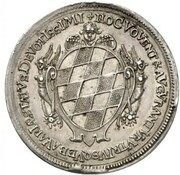 5 Ducats - Ferdinand Maria (Birth of Princess Maria Anna - Silver Pattern) – revers