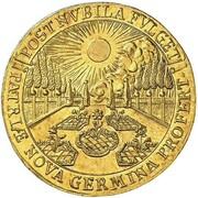 2 Ducats - Maximilian II Emanuel (Return from the Netherlands) – avers
