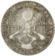 2 Ducats - Maximilian II Emanuel (Return from the Netherlands - Silver Pattern) – avers