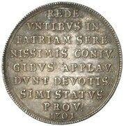 2 Ducats - Maximilian II Emanuel (Return from the Netherlands - Silver Pattern) – revers