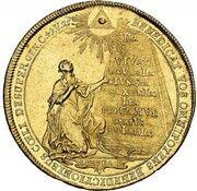 5 Ducats - Maximilian III Josef (Marriage of Maximilian III Josef and Maria Anna von Sachsen) – revers