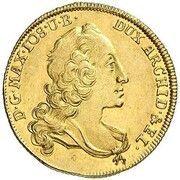 1 Ducat - Maximilian III Josef (Vikariat) – avers