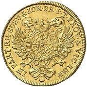 1 Ducat - Maximilian III Josef (Vikariat) – revers