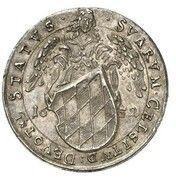 3 Ducat - Ferdinand Maria (Wedding of Ferdinand Maria and Adelheid - Silver Pattern) – revers