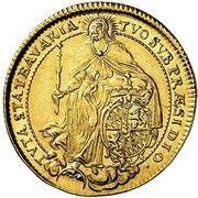 2 Ducats - Maximilian II Emanuel – revers