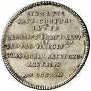 1 Ducat - Maximilian II Emanuel (Wedding of Karl Albrecht - Silver Pattern) – revers