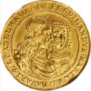 3 Ducat - Ferdinand Maria (Wedding of Ferdinand Maria and Adelheid) – avers