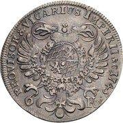 6 kreuzer Maximilian III Josef – revers