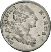 6 kreuzer Maximilian III. Josef – avers