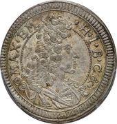 15 kreuzer - Maximilian II Emanuel – avers