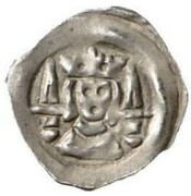 1 Pfennig - Kaiser Ludwig IV (Upper Bavaria) – avers
