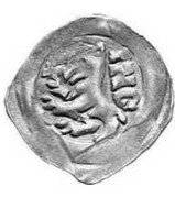 1 Pfennig - Kaiser Ludwig IV (Upper Bavaria, 2nd type) – avers