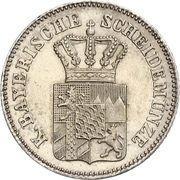 6 Kreuzer - Ludwig II -  avers