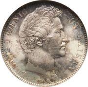 ½ gulden - Ludwig I – avers