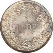 ½ gulden - Ludwig I – revers