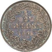 ½ Gulden - Maximilian II – revers