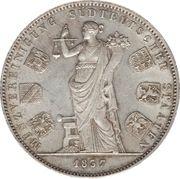 2 Thaler / 3½ Gulden - Ludwig I (Monetary Union) – revers