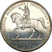 2 Thaler / 3½ Gulden - Ludwig I (Maximilian I) – revers
