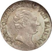 3 kreuzer - Maximilian I Joseph – avers